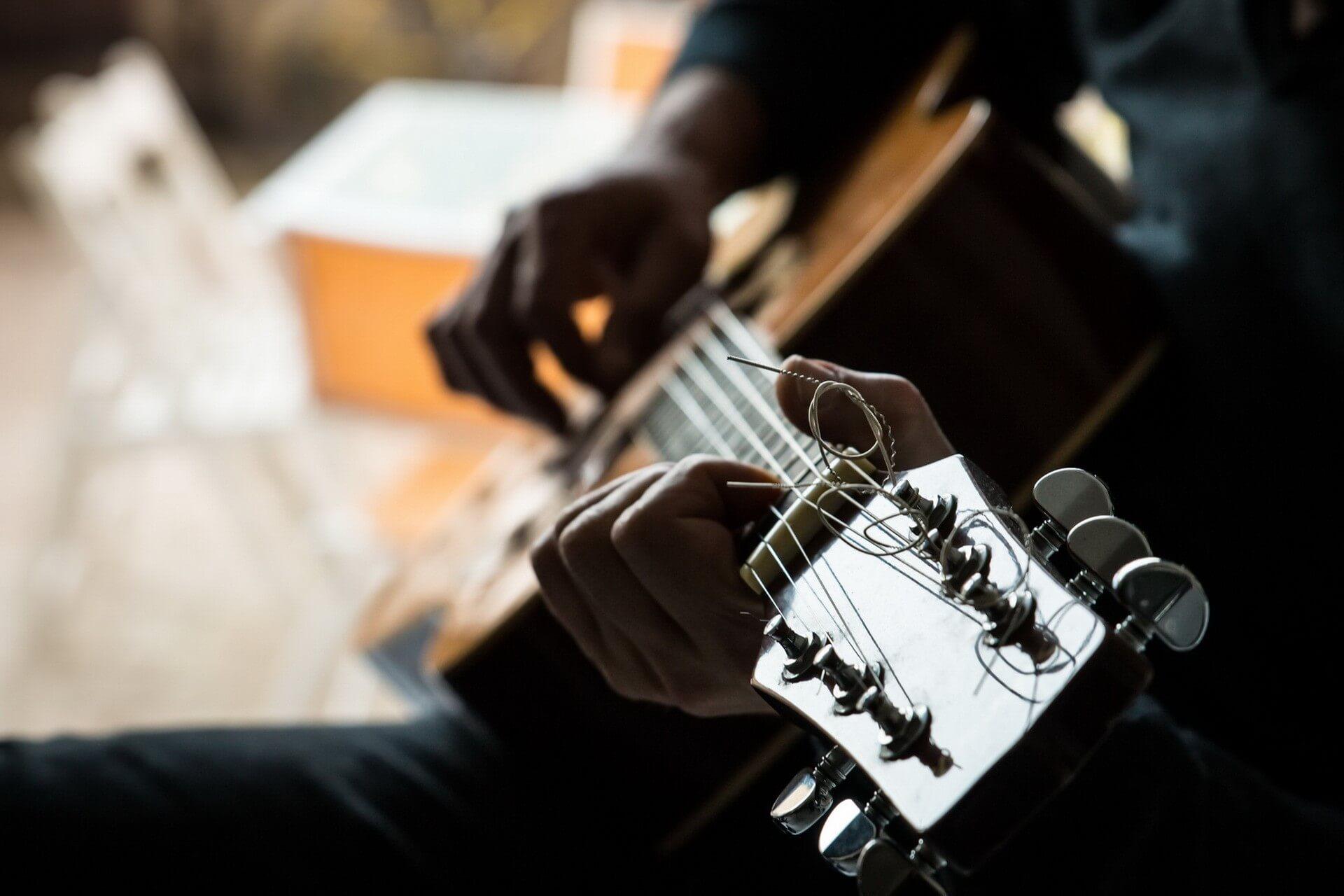 første guitar