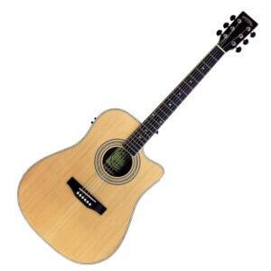 antana LA-90EQCW-NT v2 Western Guitar