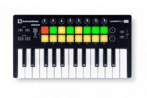 Novation Launchkey Mini-MK2 USB-midi-keyboard