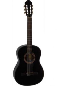 Santana B7 BK børne spansk-guitar sort
