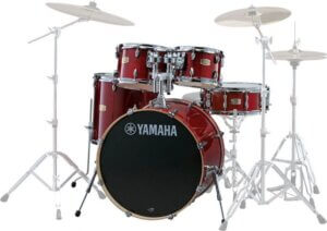 Yamaha SBP0F5 CR Stage Custom Birch trommesæt cranberry red