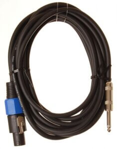 HiEnd speakon-til-jack-kabel 10 meter