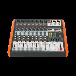IBIZA 8 kanals mixer med usb og bluetooth – den perfekte mixerpult til begyndere