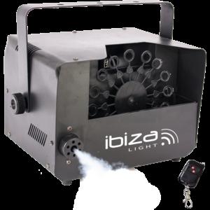 Ibiza Light 2-i-1 røg- og sæbeboblemaskine