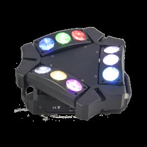 Ibiza Spider lyseffekt