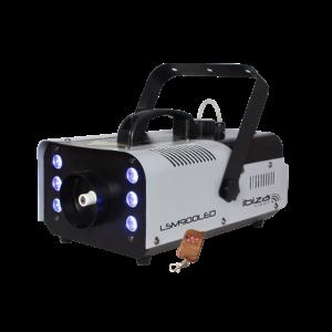 Ibiza røgmaskine, 900 watt, LED + DMX