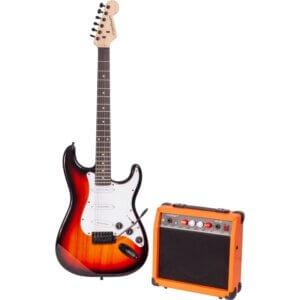 Madison vintage elektrisk guitar sæt