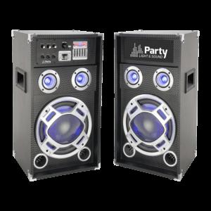 Aktivt karaoke højttalersæt 600 watt.