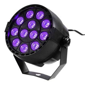 Ibiza UV LED Spot 12 X 2W