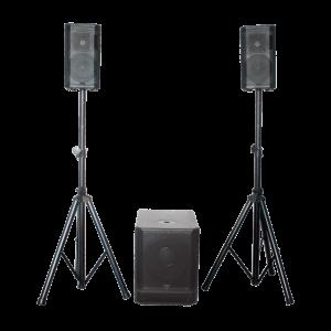 BST Aktivt Højttalersystem - 660w