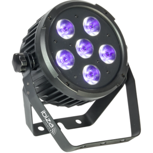 Ibiza LED UV-lampe 6 x 6 watt