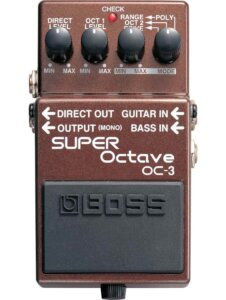 boss oc 3 super octave guitarpedal