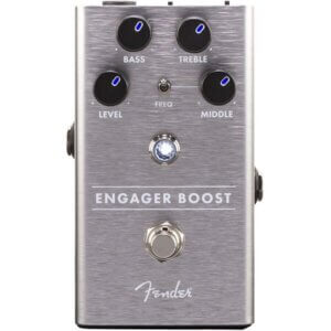 fd fender engager booster guitarpedal