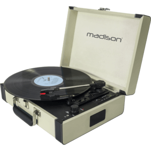 Vintage Pladespiller m. Bluetooth
