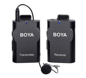 Boya BY-WM4 PRO trådløs klemmemikrofon til kamera