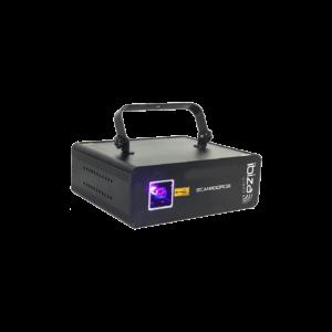 Ibiza RGB Laser 1100MW med DMX & Ilda laserlys