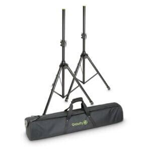 Gravity 2 Højttaler Stativer med taske (50kg/1,92m)