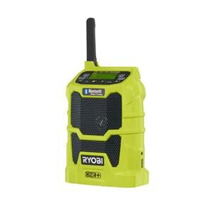Ryobi 18V one+ bluetooth radio R18R-0 solo model