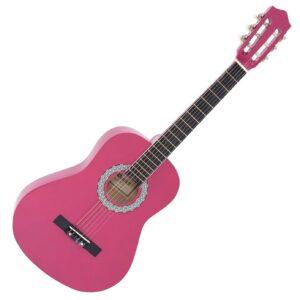DiMavery AC-303 klassisk spansk guitar ¾, pink