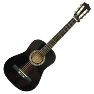 DiMavery AC-303 klassisk spansk guitar ½, sort