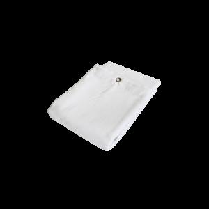 ProXL Molton Bagtæppe med øjer - hvid