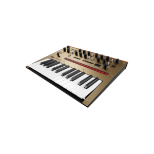 Korg Monologue Gold Synthesizer Syntheziser, digital synthesizer, analog synthesizer, novation summit, roland d-05, moog grandmother