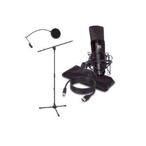 LD Systems PODCAST 2 Studie mikrofon sæt lyd optagelse mikrofoner