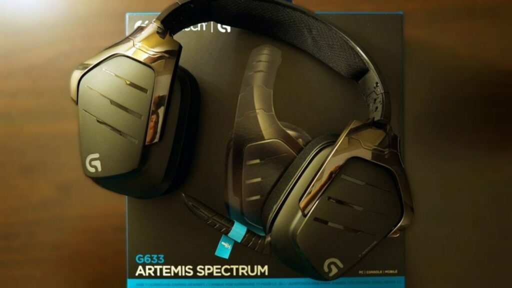 Logitech G933 Artemis Spectrum Wireless test af gaming headset