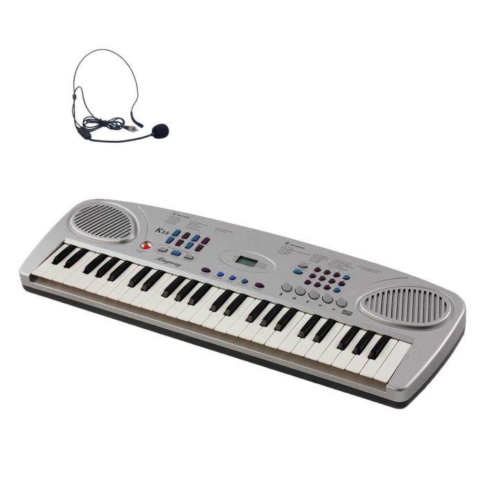 Ringway K35 børne-keyboard med headset mikrofon