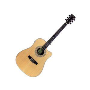 Santana LA-90EQCW-NT v2 Western Guitar