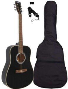 Sant Guitars AC-80-BK western-guitar sort