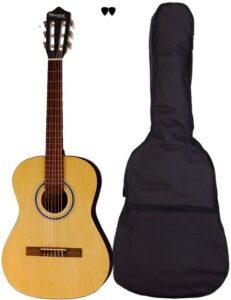San Guitars CJ-36L-NA børne-venstrehånds guitar i natur