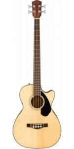 POPULÆR I UDLANDET - Fender CB-60SCE BLK akustisk bas