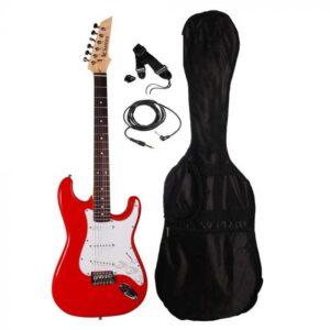 Chateau ST01 RD el-guitar, rød