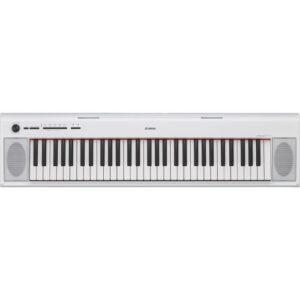 Bedste Yamaha elklaver til prisen - NP-12 WH Piagerro