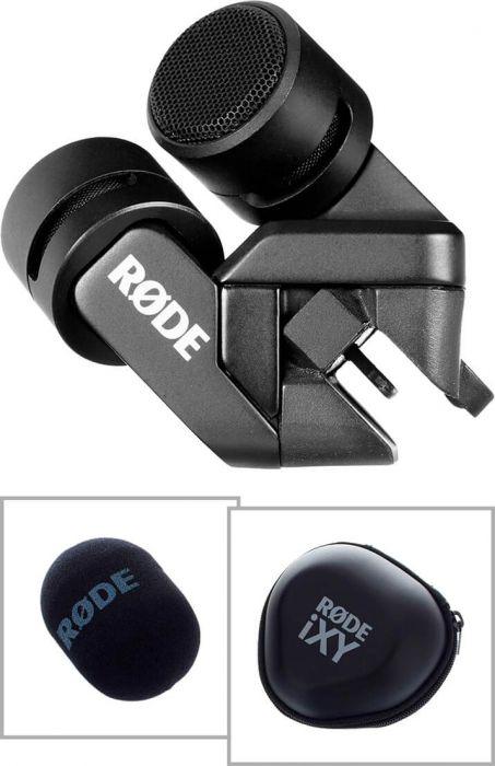 Røde iXY Lightning stereo kondensator-mikrofon til iPad & iPhone