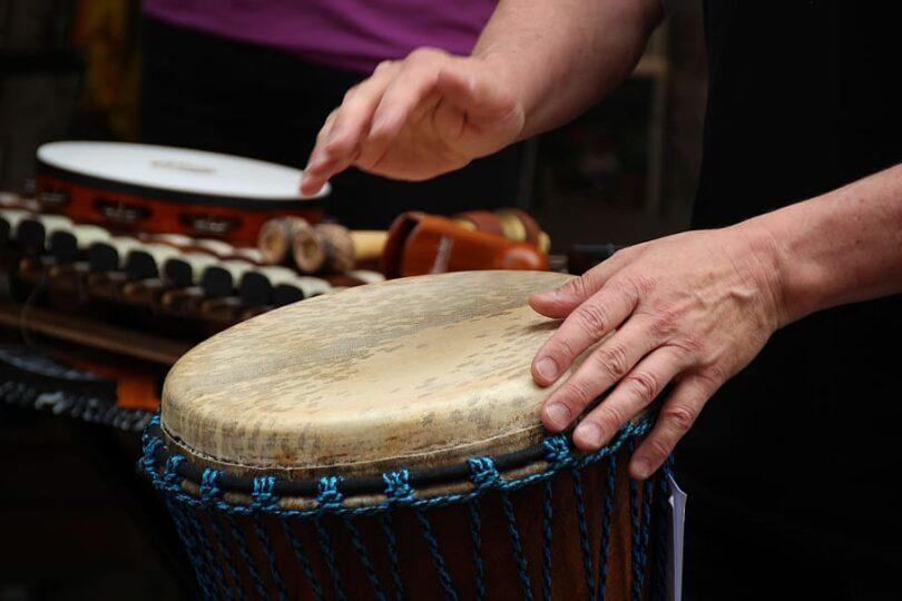 djembe trommer