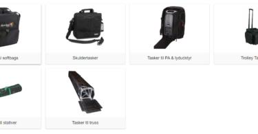 tasker til pa udstyr